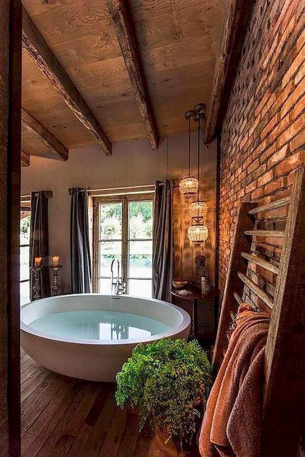 25 Cozy Rustic Bathroom Decor To Guide Your Renovation - W16