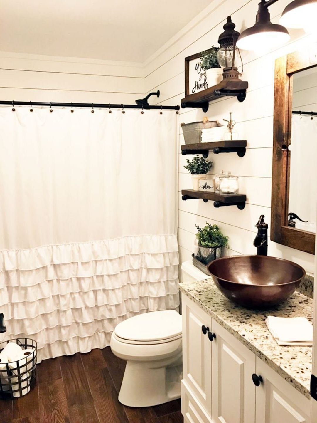 25 Cozy Rustic Bathroom Decor To Guide Your Renovation - W20