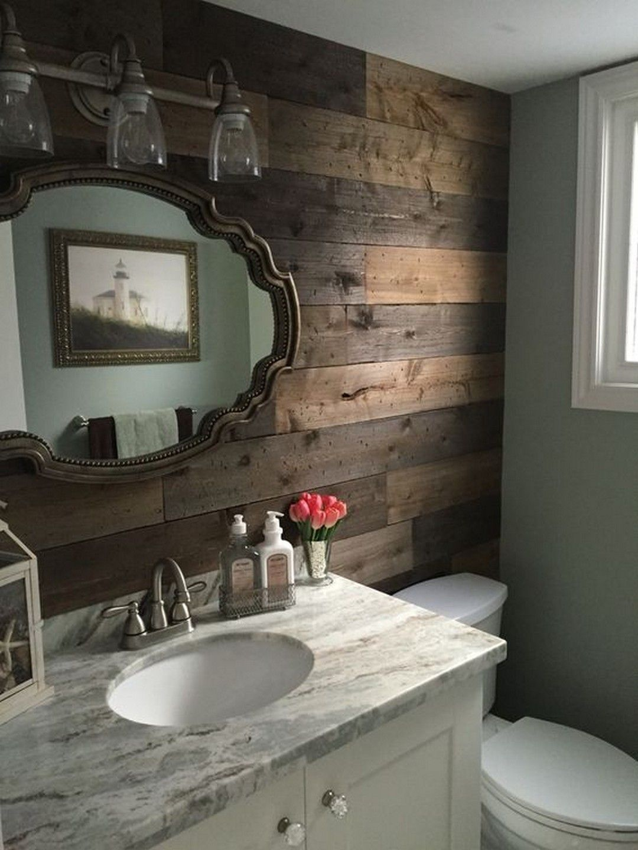 25 Cozy Rustic Bathroom Decor To Guide Your Renovation - W22