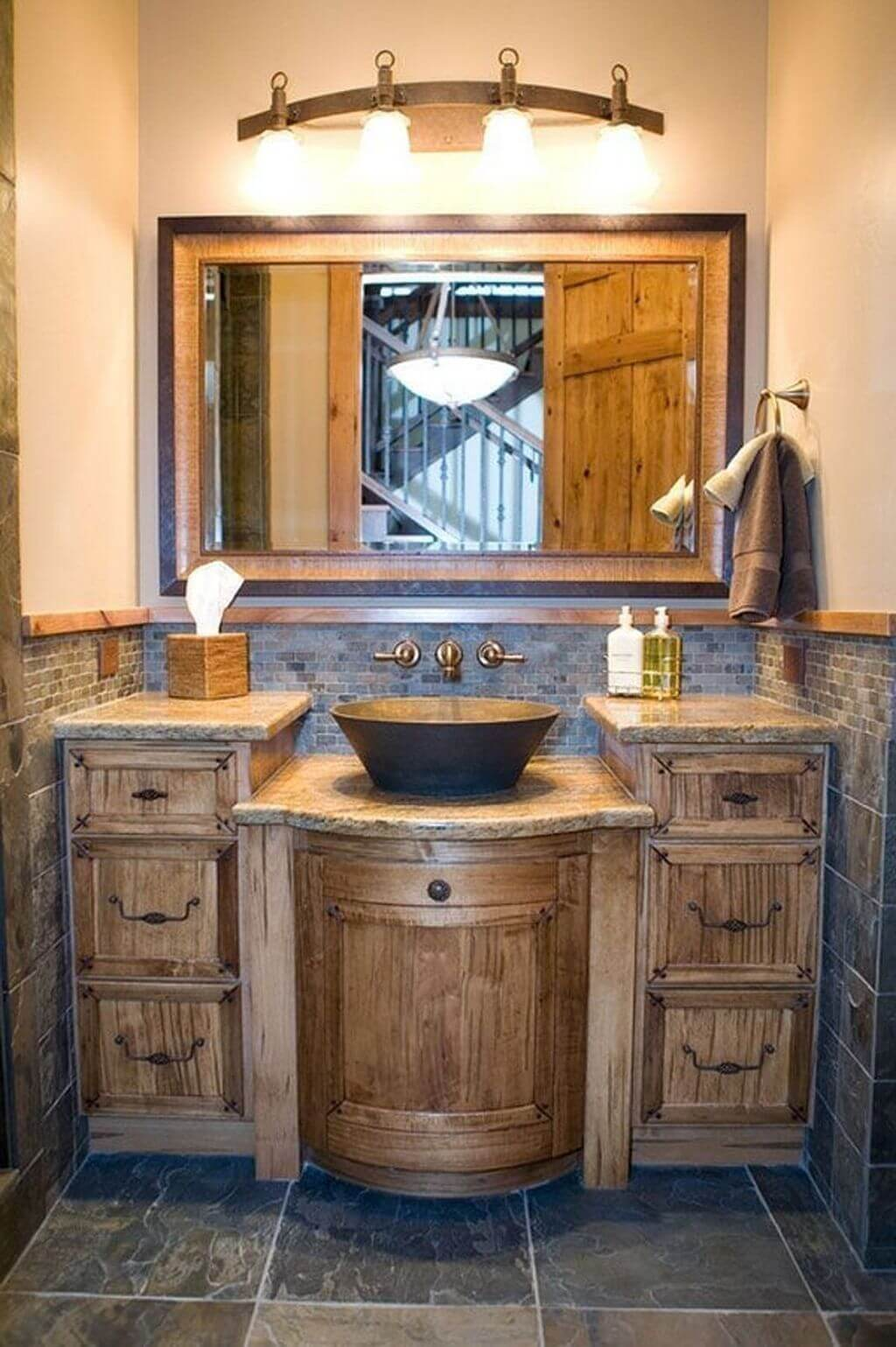 25 Cozy Rustic Bathroom Decor To Guide Your Renovation - W25