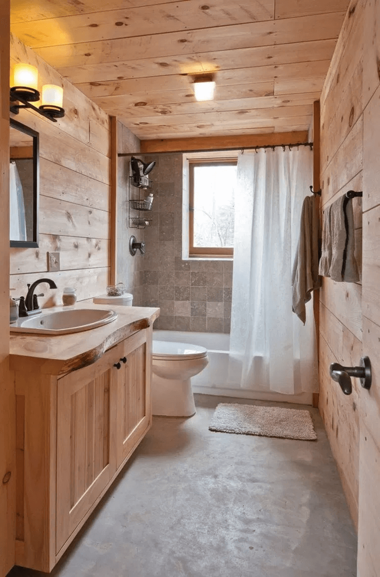 25 Cozy Rustic Bathroom Decor To Guide Your Renovation - W5