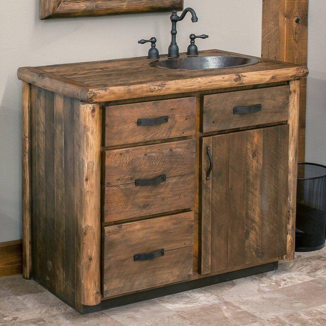 25 Cozy Rustic Bathroom Decor To Guide Your Renovation - W6
