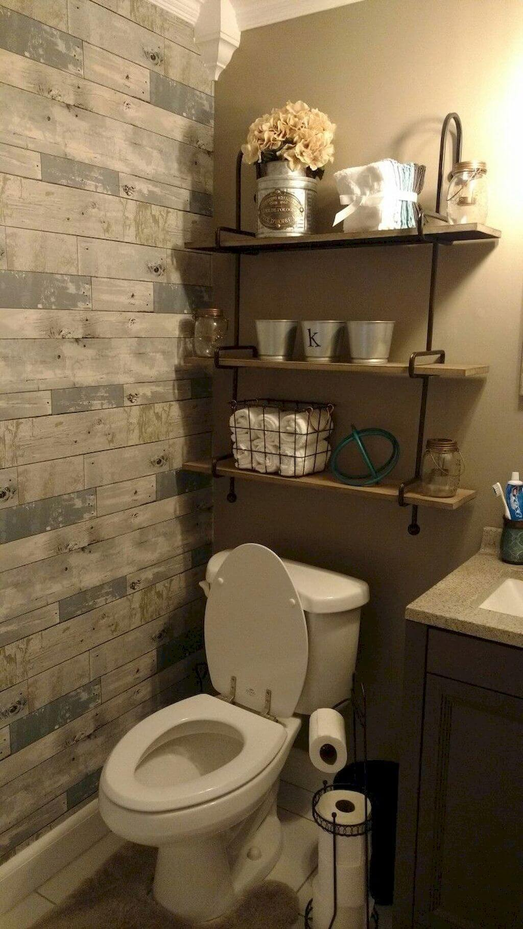 25 Cozy Rustic Bathroom Decor To Guide Your Renovation - W7