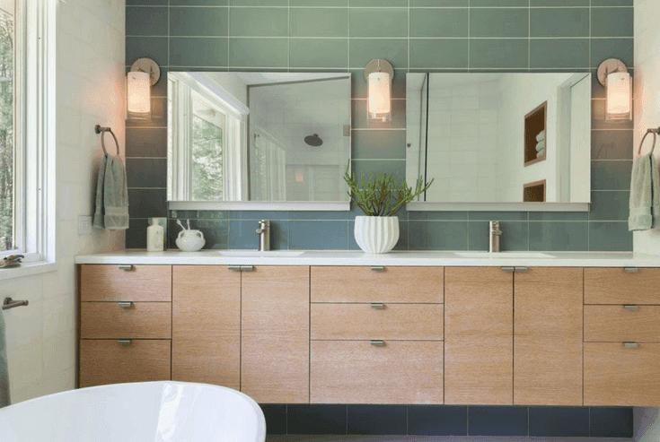 25 Eccentric Designs For Mid Century Modern Bathroom - X6 E1567418245609