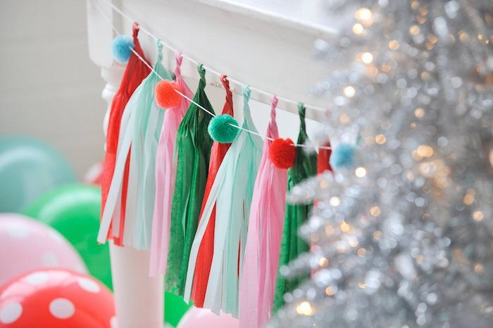 14 Easy &Amp; Creative Diy Tassel Garland Ideas (With Tutorials!) - Diy Ribbon Garland For Christmas Party