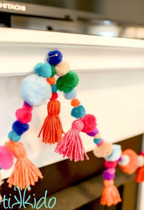 14 Easy &Amp; Creative Diy Tassel Garland Ideas (With Tutorials!) - Diy Tassel Garland And Pom Pom