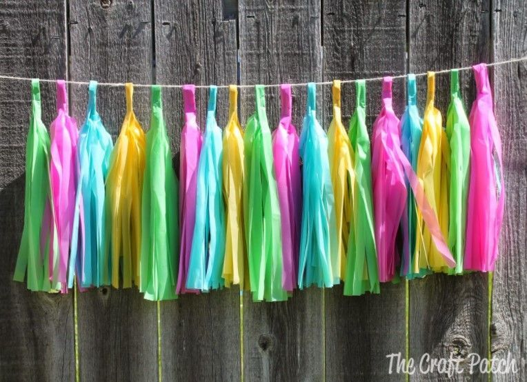 14 Easy &Amp; Creative Diy Tassel Garland Ideas (With Tutorials!) - Diy Tassel Garland From Plastic